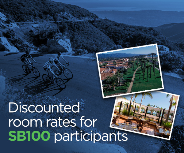 Discounted room rates for SB100 participants