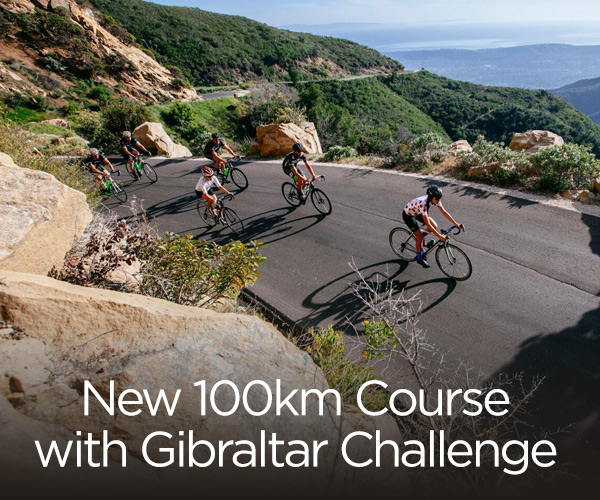 New 100km Course with Gibraltar Challenge