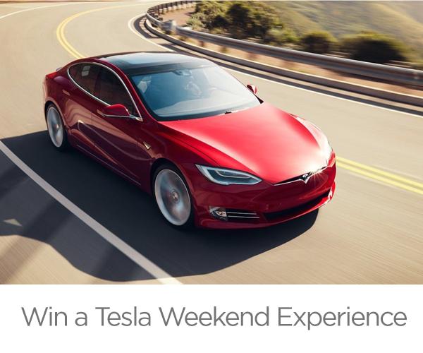 Win a Tesla Weekend Experience